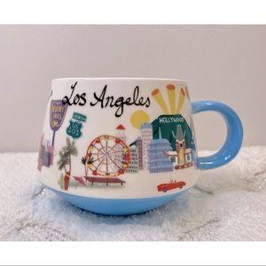 Los Angeles Destination Fine Porcelain Mug